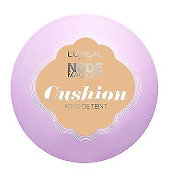 3 x L'Oreal Paris Nude Magique Cushion Foundation 14.6g - Various Shades