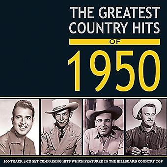 Diverse Artist - Greatest Hits van de land van 1950 [CD] USA importeren