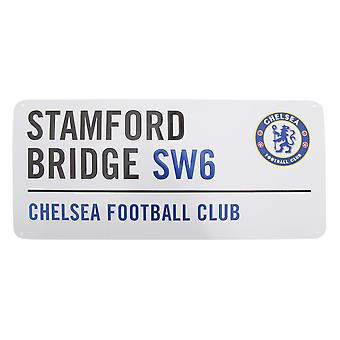 Chelsea FC oficial Stamford Bridge Football Metal Club calle muestra