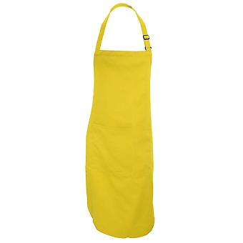 Dennys Adults Unisex Catering Bib Apron With Pocket