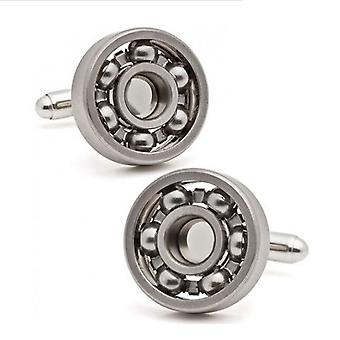 Mens Luxury Engineer Ball Bearing Tool Cufflinks Wedding Formal Business Unique Gift