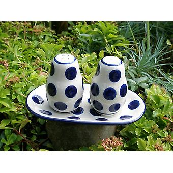 Tray with salt shaker and pepper shaker, tradition 28, BSN s-607