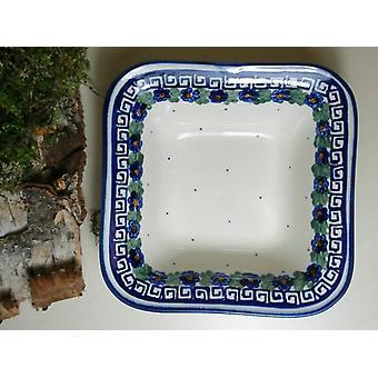 Shell, 14 x 14 cm, hoogte 4.50 cm, 52 - Unikat Pools aardewerk - BSN 6569