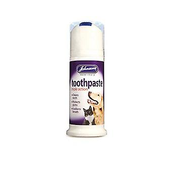 Johnsons Triple Action Toothpaste for Cats & Dogs 50g 50g - 6 pack