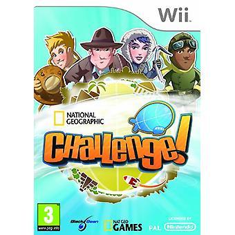 National Geographic Challenge! (Wii)-in de fabriek verzegeld