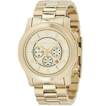 Michael Kors Mens rullebane Chronograph Watch MK8077