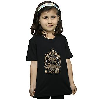 Johnny Cash Girls Ring Of Fire T-Shirt