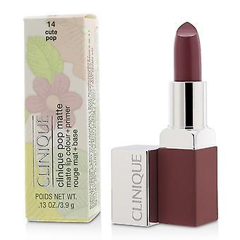Clinique Pop matta huuli väri + Primer - # 14 söpö Pop - 3.9g/0.13oz