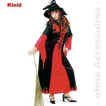 Witch Wizard costume dress red black Halloween ladies costume