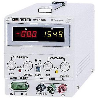 GW Instek SPS-2415 Bench PSU (adjustable voltage) 0 - 24 V DC 0 - 15 A 360 W Remote No. of outputs 1 x