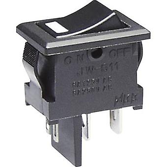 NKK Switches Toggle switch JWS11RAAC 250 V AC 10 A 1 x Off/On latch 1 pc(s)