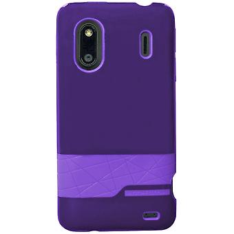 Body Glove - Diamond Snap-on Case for HTC EVO Design 4G, HERO S  - Purple