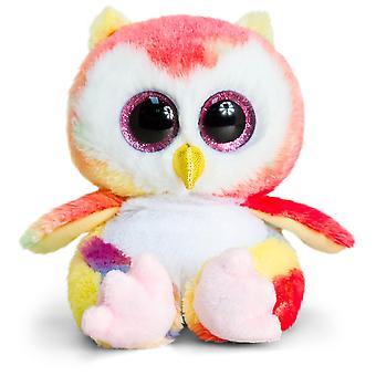 Keel Toys Animotsu Rainbow Owl