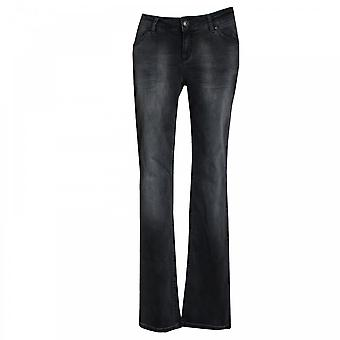 Oui Women's Washed Denim Stretch Jeans