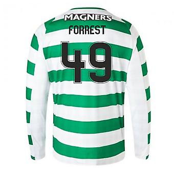 2018-2019 Celtic Home Langarm-Shirt (Forrest 49)