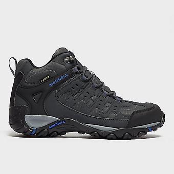 New Merrell Men's Accentor Gore-Tex Walking Trekking Mid Boots Dark Grey