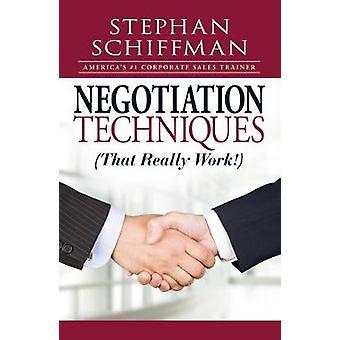 Técnicas de negociación (que realmente funcionan!) por Stephan Schiffman - 978