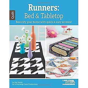 Löpare: Säng & bordsskiva: försköna ditt hem med snabb & lätt mönster!
