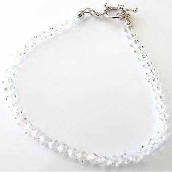 Bryllup brude klare krystaller armbånd Swarovski krystaller armbånd
