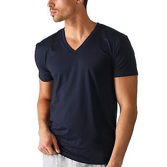 Mey 46507-668 Men's Dry Cotton Colour Yacht Blue Short Sleeve Top
