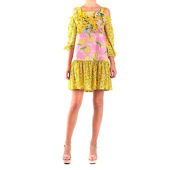Moschino Ezbc015032 Women's Multicolor Viscose Dress