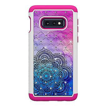 Samsung Galaxy S10e TPU-Shell Armor Extra-durable-Henna Flower