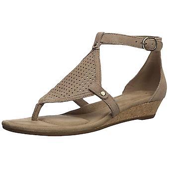 Koolaburra by UGG Womens Briona Split Toe Casual T-Strap Sandals