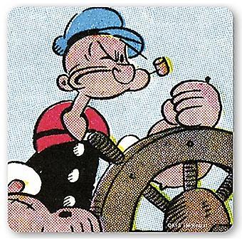 Popeye The Sailor Man drinks mat / coaster (lsh)