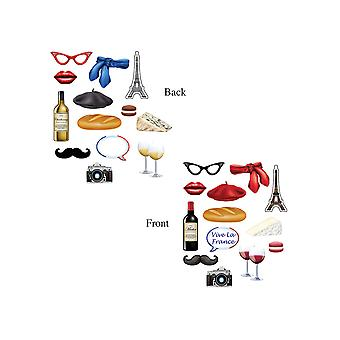 Französische Foto-Fun-Zeichen