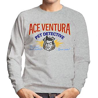 Ace Ventura Pet Detective Logo Men's Sweatshirt