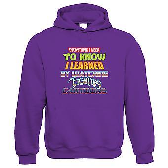80s Cartoons, Retro Throwback Hoodie | Teenage Ninja Thunder Turtles Eighties Transformer | Timeless Retro Vintage Iconic Seminal Memorable | TV & Movie Gift Him Her Birthday