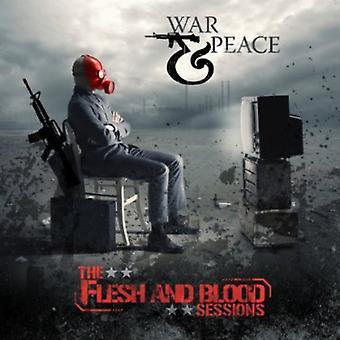 Oorlog & vrede - vlees & bloed Sessions [CD] USA import