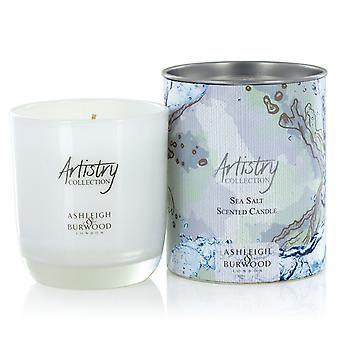 Artistry Collection duftende stearinlys jar medium 200g havsalt