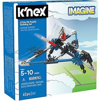 K'NEX K'NEX starter kjøretøy byggesett (Stealth Plane)