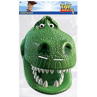 Rex from Toy Story 4 Official Single 2D Card Party Fancy Dress Mask