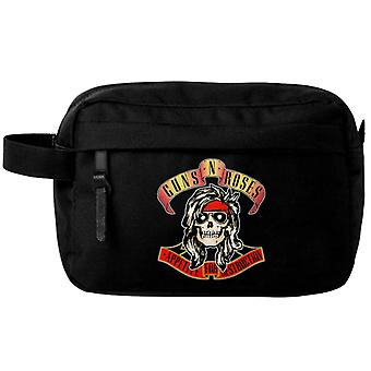Guns N Roses Wash Bag Appetite For Destruction Band Logo yeni Resmi Siyah