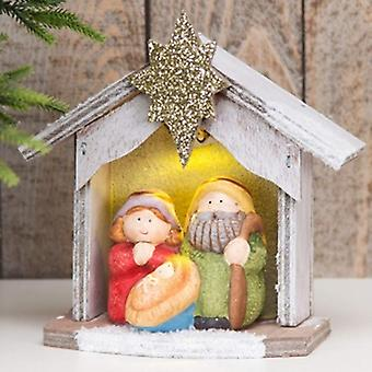 Widdop Gifts Light Up Nativity Set