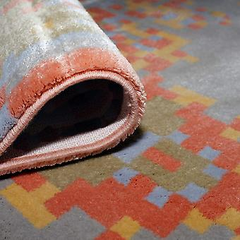 Pierre Cardin Design Teppich in Acryl grau/Orange