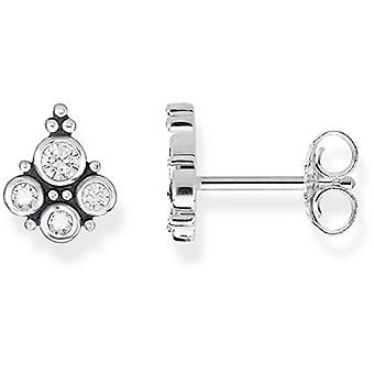Thomas Sabo Silver Silver Stud Earrings Sterling 925 H2024-643-14