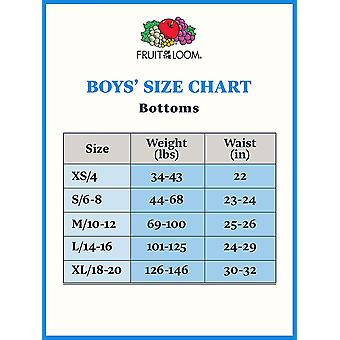 Fruit of the Loom Boys' Big Cotton Brief (Multipack),, MultiColor, Size X-Small