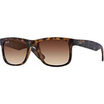 Ray-Ban Justin Rubber Havana Brown Degraded