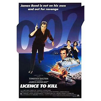 Licence To Kill (Single Sided International) Original Cinema Poster