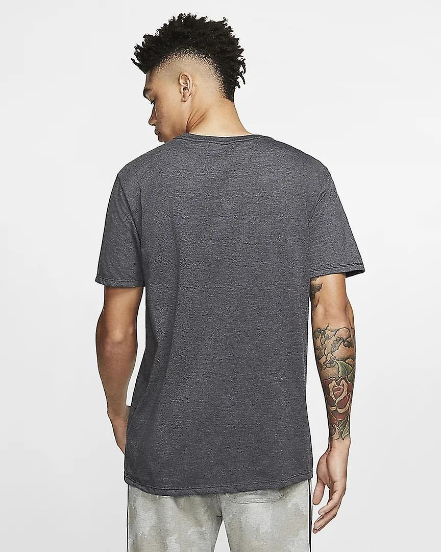 Hurley Men's T-Shirt ~ One & Only Solid  black