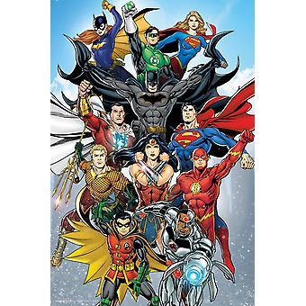 DC Comics Renacimiento Maxi Cartel 61x91.5cm