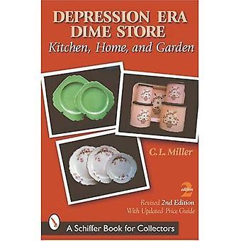 Loja de dez centavos Era depressão: cozinha, casa e jardim