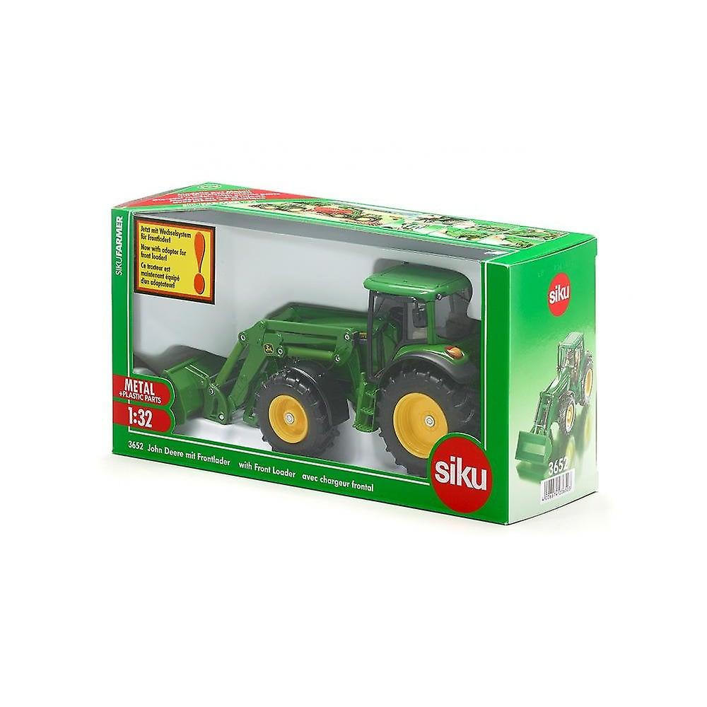 Siku John Deere Tractor With Front Loader  1:32 3652