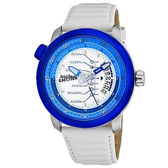 Jean Paul Gaultier Men's Cockpit White Dial Watch - 8504903