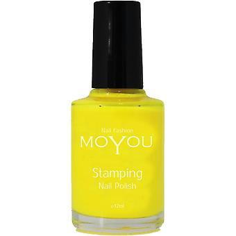 MoYou Stamping Nail Art - Special Nail Polish - Pineapple Paradise 12ml