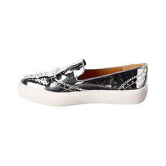 Franco Sarto Womens Nelson Low Top Slip On Fashion Sneakers