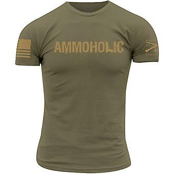 Grunt Stil Ammoholic T-Shirt - olivgrün